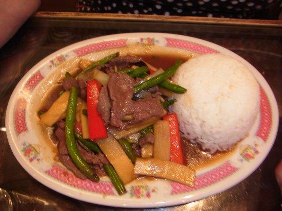Chang-Thaikuche: Essen