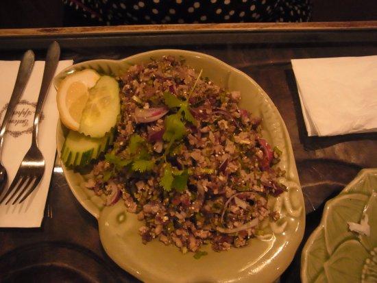 Chang-Thaikuche: Salat mit Ente