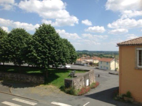 La Chataigneraie, Frankrijk: View from Logis