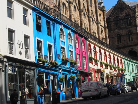 Edinburgh Old Town: West Bow/Victoria Street