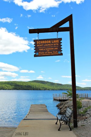 Schroon Lake, État de New York : Boat Launch