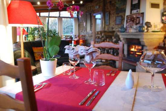Augne, França: Salle de restaurant