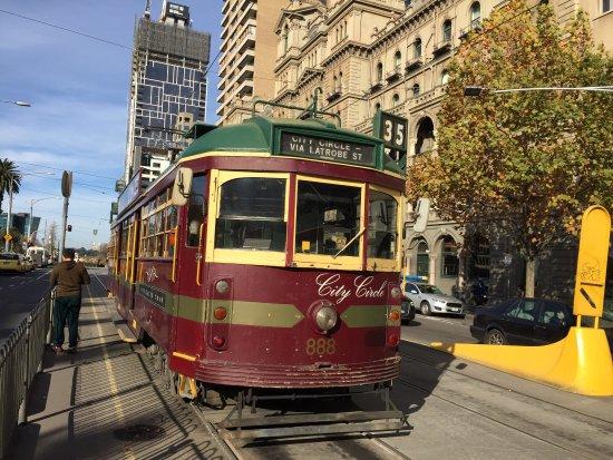 City Circle Tram Photo