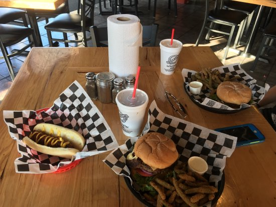 Amazing burgers and dogs!!