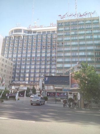 Parsian Enghelab Hotel: From the road