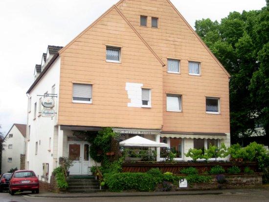 Pirmasens, Germany: Posthorn