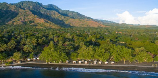 Matahari Beach Resort & Spa: Panorama view