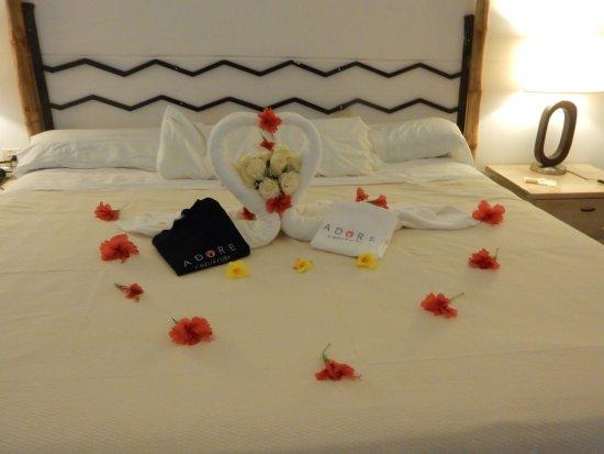 décoration de notre chambre pour le mariage - Photo de Sol Cayo ...