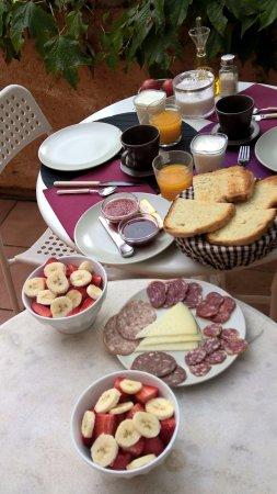 Serinyà, España: Desayuno de campeones!
