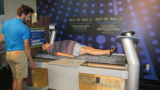 Wonderworks Myself Laying On A Bed Of Nails