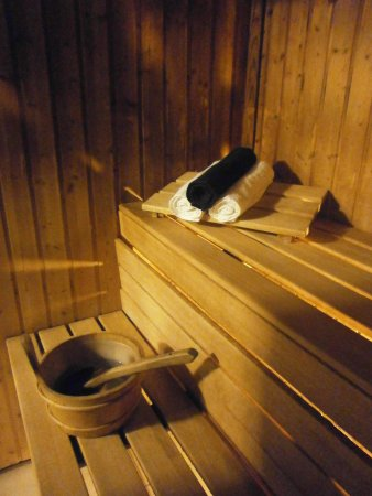 Kilgetty, UK: The Sauna