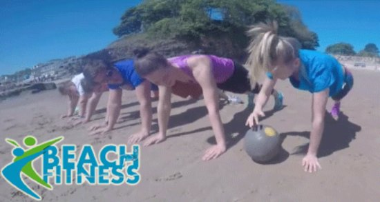Kilgetty, UK: Weekly Beach Fitness Classes