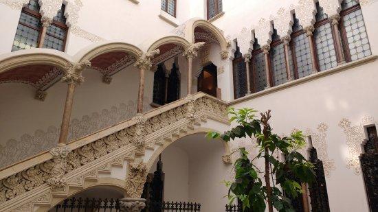 Casa Macaia: patio interior