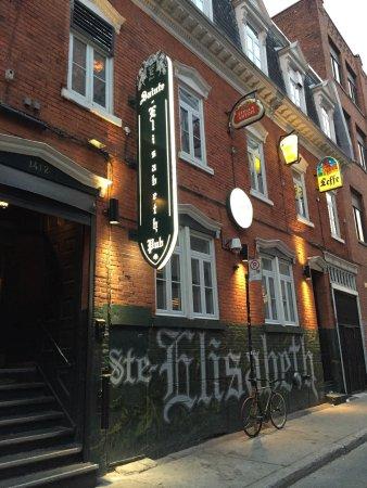Pub Sainte-Elisabeth