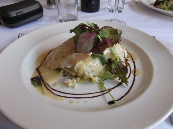 Casa Mia : Steamed fillet of haddock on bubble and squeak
