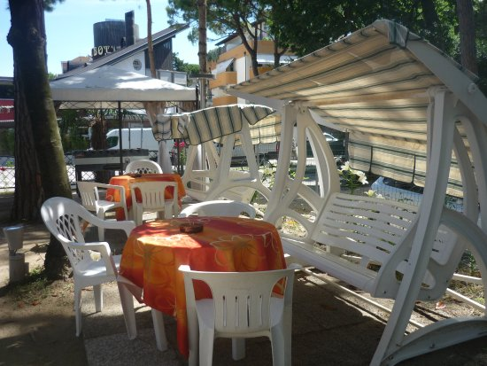 Hotel Mimosa: Area Relax all'aperto
