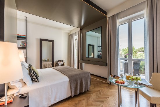 Fortyseven Hotel Rome: Deluxe room at the highest floor