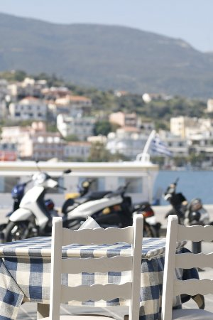 Taverna Rota: You will love our view!