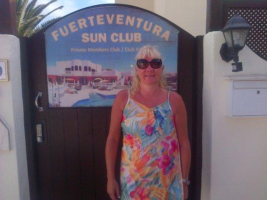 Infiniti Fuerteventura : Entrance door