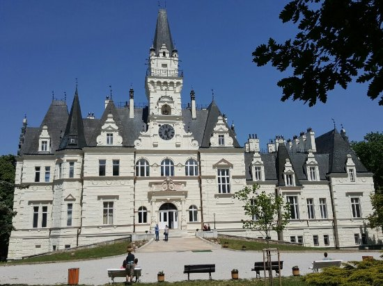 Budmerice chateau is open again. It is not very far from Bratislava and you can spend there in