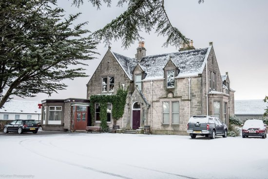 Westerlea Hotel Nairn : Snowy Morning