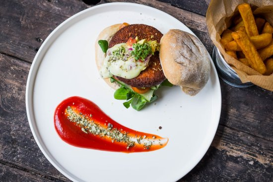 Photo of Modern European Restaurant Meatless District at Bilderdijkstraat 65-67, Amsterdam 1053 KM, Netherlands