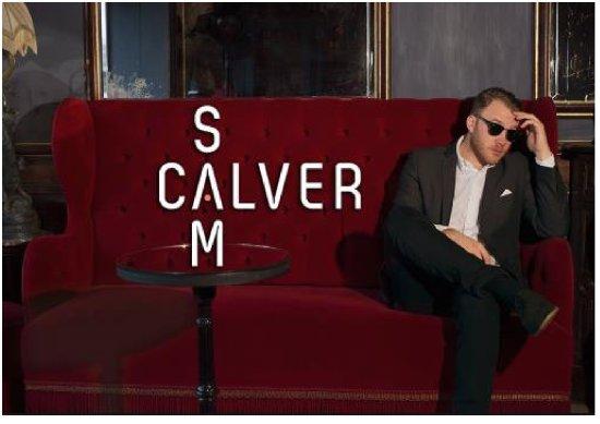 Bexhill-on-Sea, UK: Sam Calver plays Rocksalt