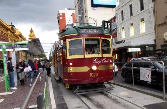 City Circle Tram: city centre tram