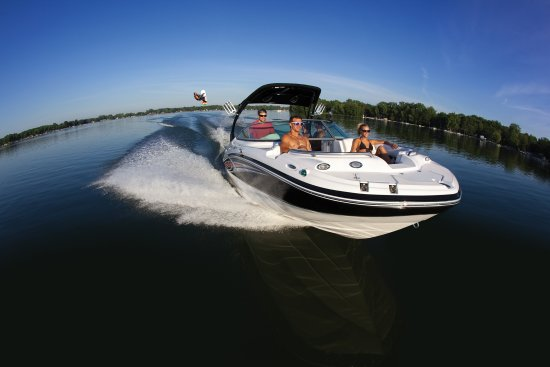 Lake of the Ozarks, MO: Hurricane Deck Boat