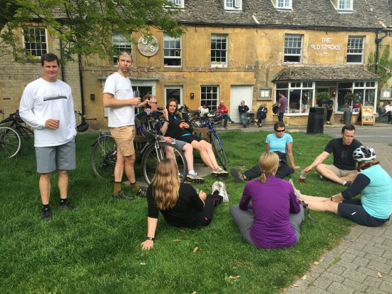 Biker's Delight: Stow on the Wold - Home base