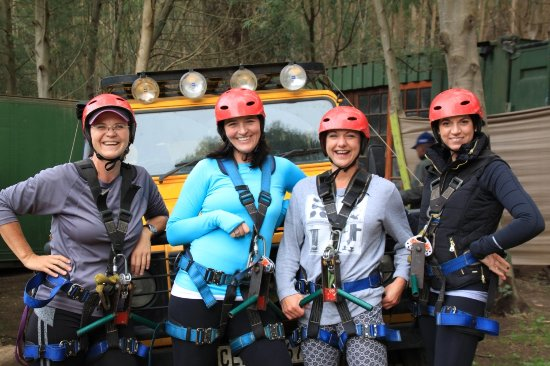 Херманус, Южная Африка: Zip Lining in Hermanus with Percy Tours
