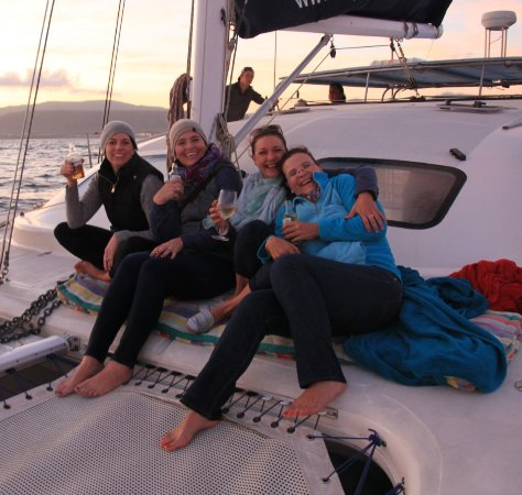 Херманус, Южная Африка: Ocean boat sunset cruise in Hermanus with Percy Tours
