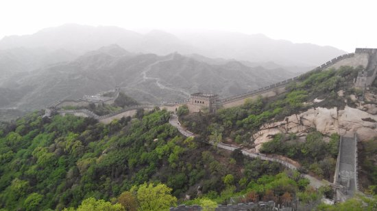 Yanqing Badaling Incomplete Great Wall: стена
