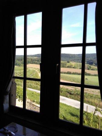 Sulzfeld, Deutschland: Herrliche Aussicht.