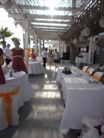 Reception In Beach House Picture Of Dome Beach Hotel Resort