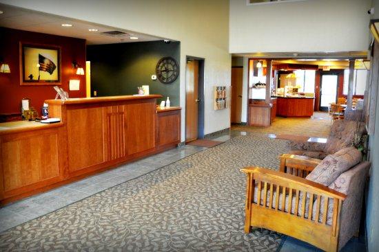 the niobrara lodge lobby - Niobrara Lodge Valentine Ne
