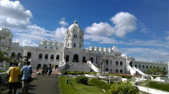 Agartala, India: Kunjaban Palace or Tripura Rajbari