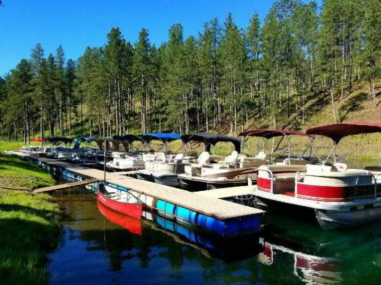 Pactola Pines Marina: Pontoon Rental Fleet