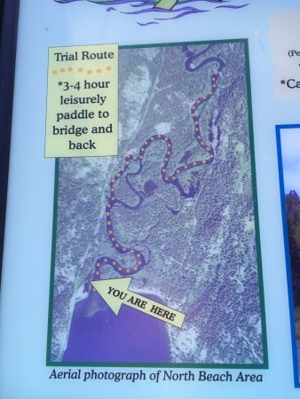 McCall, ID: Canoe and kayak trail offers interpretive information along the way.