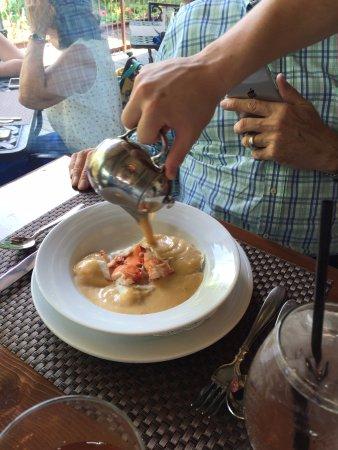 Lambertville, Nueva Jersey: lobster bisque