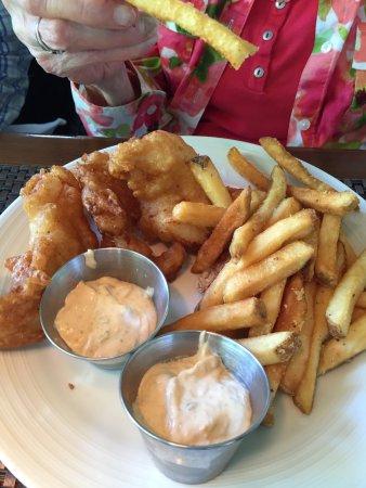 Lambertville, Nueva Jersey: fish and chips