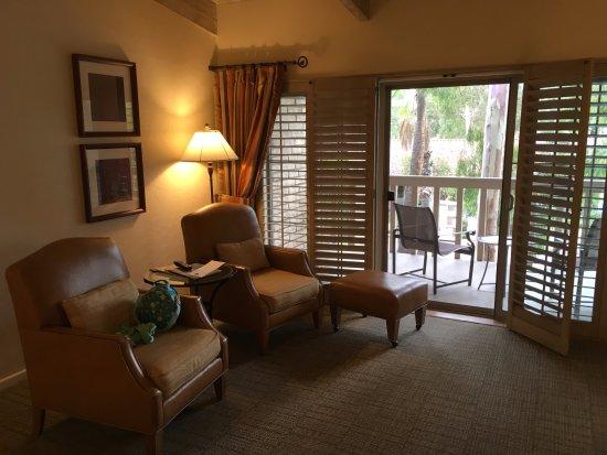 Rancho Bernardo Inn: 2 chairs