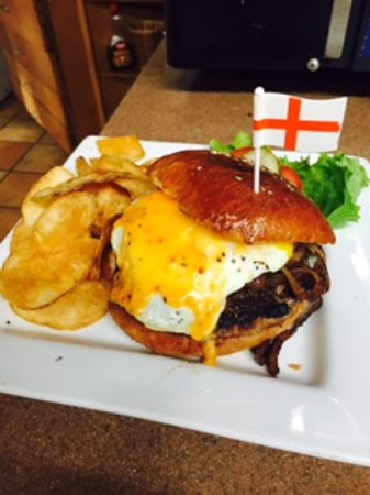 Red Coat Burger - Picture of Ligonier Tavern, Ligonier - TripAdvisor