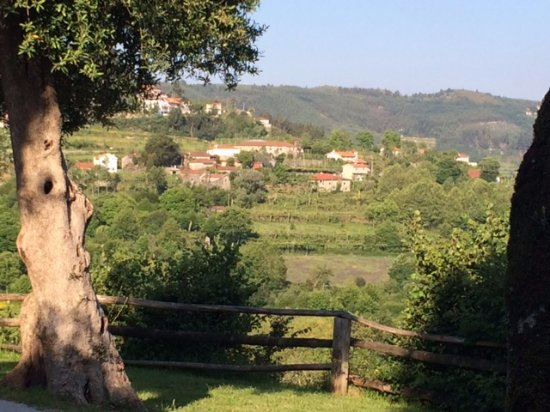 Cabeceiras de Basto, Portugal: View from our outdoor patio