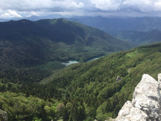 Kolasin, Montenegro: Beautiful view after a demanding hike.