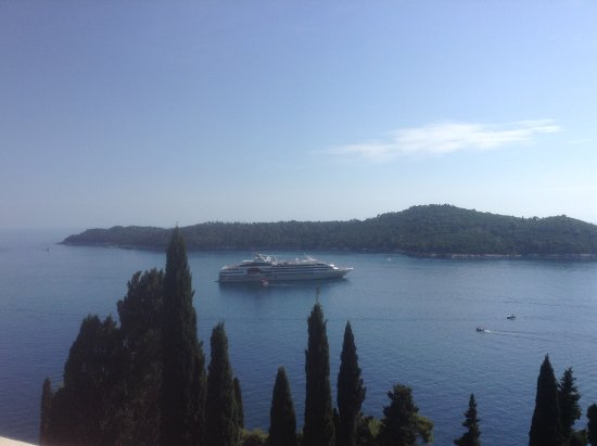 Villa Odak: The view from my room.