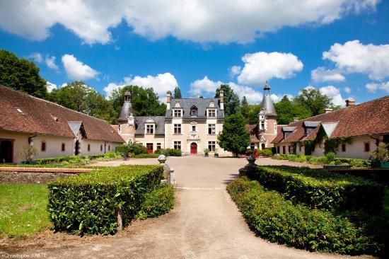 Cheverny, فرنسا: Château de Troussay, Façade François 1er