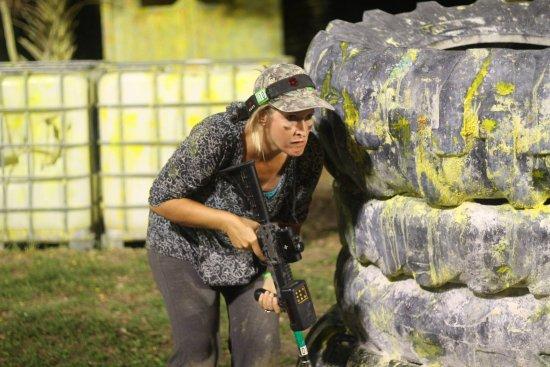 Battleground Orlando: lots of things to duck behind
