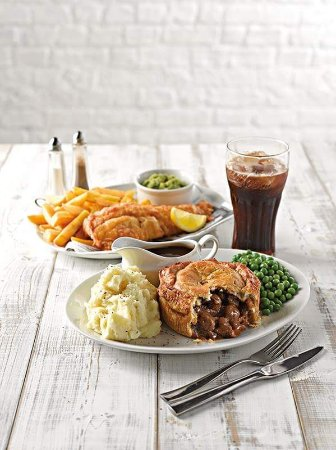 Needham Market, UK: Two meals for £9.99 every day