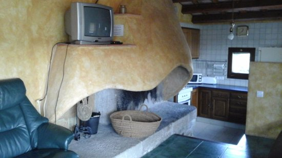 Camallera, Испания: Comedor/Cocina/Sala estar de otro apartamento